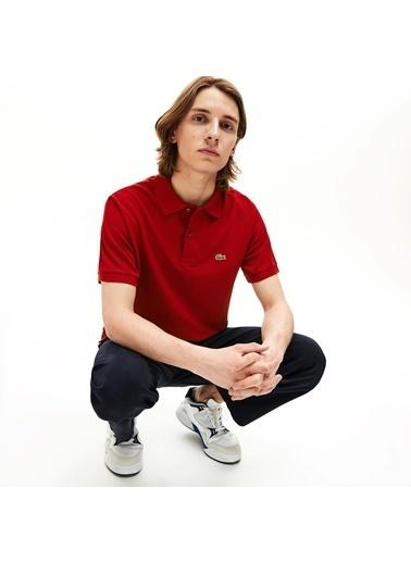 Lacoste Erkek Klasik Tişört L1212.Z1Q Kırmızı